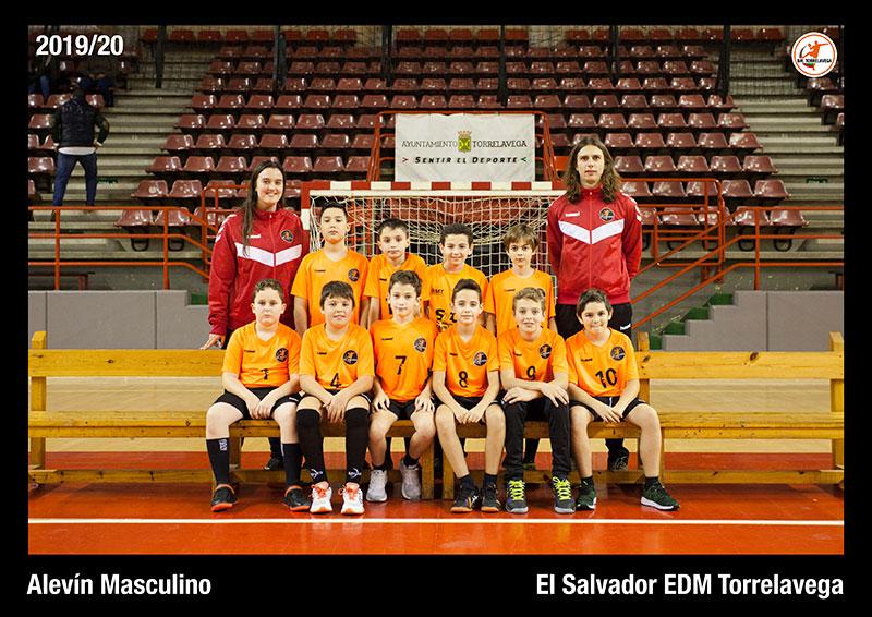 Alevín Masculino El Salvador EDM Torrelavega